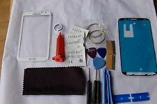 Samsung NOTE 2 BIANCO Kit Di Riparazione Vetro Anteriore,loca colla,taglio cavo