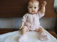 "SALE NO DOLL KNIT DOLL SWEATER ONLY   FITS 15"" TINY TEARS"