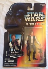 Kenner Star Wars Power of the Force Red Card Action Figure - Han Solo
