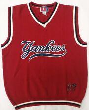 Team J Sports Negro League Baseball New York Black Yankees Sweater Vest  L