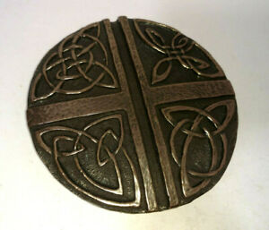Irish Bronze Celtic Love Cross Made in Ireland Wild Goose Studio Cork