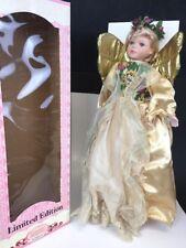 "Keepsake Memories, Limited Edition,porcelain Doll 21"" Angel,boxed"