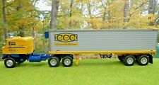 '53 KENWORTH BULL-NOSE w/ 35' CCC TRAILER by 1st First Gear 18-1852 in Shpr.
