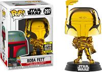 Star Wars - Boba Fett Gold Chrome SW19 US Exclusive Pop! Vinyl - FUNKO New