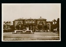 Wilts Wiltshire SALISBURY War Memorial Town Hall c1920/30s? RP PPC