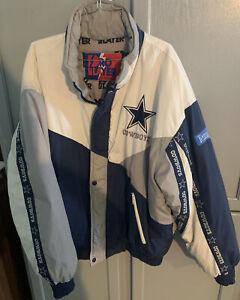 Dallas Cowboys Nylon Jacket Size XL Pro Player Team NFL Coat Texas Daniel Young