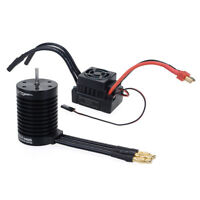 F540 3300KV Waterproof Brushless Motor + 60A ESC Set For 1/10 RC Car Parts Acces