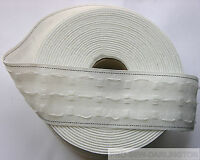 1 inch CURTAIN HEADING HEADER TAPE~PENCIL PLEAT~Various Lengths 25mm  wide