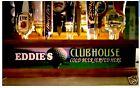 Personalized golf club house 18 beer tap handle display /  golfers display