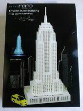 PAPER NANO Empire State Building Laser Cut Paper Model Craft PN122 Kawada