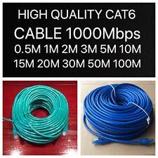 0.5m 1m 2m 5m 10m 20m Cat6 Network Ethernet Cable 100M/1000Mbps