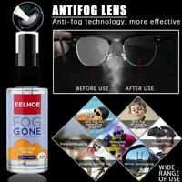 Anti-Fog Spray Prevents Fogging For Glass Windows ml 60 Glasses Mirrors M9M2