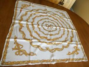 VINTAGE AUTHENTIC EMILIO PUCCI 100% SILK SCARF MADE IN ITALY