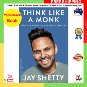 Think Like A Monk By Jay Shetty | Paperback Book | BRAND NEW | FREE SHIPPING AU