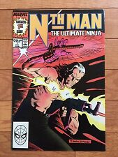 Marvel Comics NTH MAN THE ULTIMATE NINJA #1 NM 1989 Larry Hama, Ron Wagner