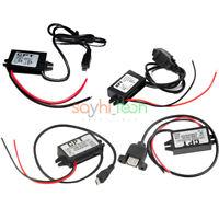 DC-DC 12V to 5V Mini/Micro/A type Single USB Converter Step Down Power Module