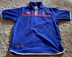 Frankreich Trikot EURO 2000 (L) / Zidane