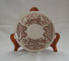 Vintage Alfred Meakin Fair Winds Saucer Staffordshire England New York Harbor