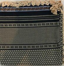 "Luxury arab 50"" shemagh scarf men women large palestine arfat head islam Gold"