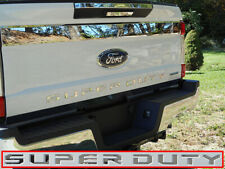 """Chrome Stainless Steel """"SUPER DUTY"""" Letters FITS 2017 2018 2019 Ford F250 F350"""