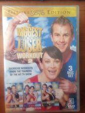 THE BIGGEST LOSER: WORKOUT 2 - NEW & Sealed - 3-DVD Set Deluxe Edition