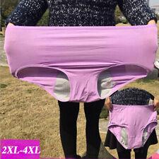Women Underwear Period Health Leak Proof Plus Size panty for Large Brief knicker