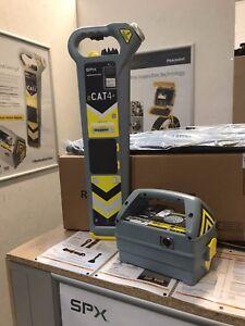 Radiodetection eCAT4+ Kit - DATA Logging * DEPTH * Genny4 and BAG - BRAND NEW
