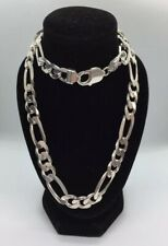 New Silver 925  Chunky Links Men's Necklace/ Chain 62.93g