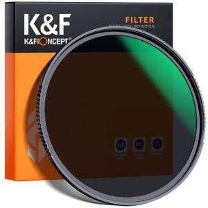 K&F Concept ND8 lens filter Nano-X neutral density 49/52/55/58/62/67/72/77/82mm