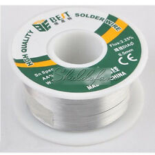 A roll of 0.5mm 100g Tin Lead Rosin Core Solder Soldering Wire New