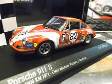 PORSCHE 911 S Racing 1000km #82 Nürburgring Neuhaus Kremer 1971 Minichamps 1:43