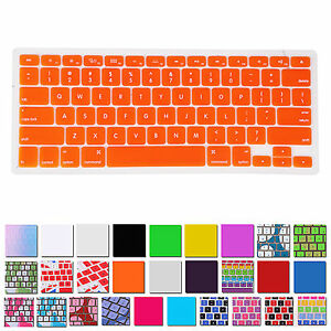 Thin Silicone Keyboard Cover Skin for Apple Macbook Air Pro Retina MAC 13 15 17