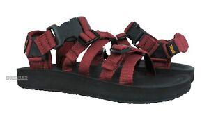 Teva Alp Premier Fired Brick Leather Sandals Mens Size 13 *NIB*