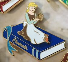 Disney Wdi Treasury Of Tales Storybook Series Cinderella Gus & Jaq Pin Le 250