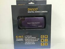Mustek DV539Z 6-In-One Multi-Functional Video Camera with 4X Digital Zoom 2.4-In