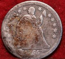 1855-O New Orleans Mint Silver Seated Half Dime w/Arrows