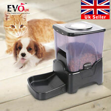 10l Automatic Pet Feeder Auto Program Digital Cat Dog Food Bowl Dispenser LCD