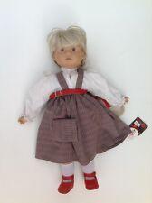 "SIGIKID 17.5"" tall Adorable Original Western Germany Doll"