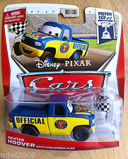 Disney PIXAR Cars DEXTER HOOVER with CHECKERED FLAG 2013 PISTON CUP theme 13/18
