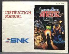Mechanized Attack Nintendo NES Instruction Manual Only