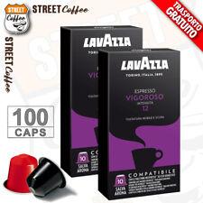 100 Cialde Capsule Caffè Lavazza Compatibili Nespresso Miscela Vigoroso gratis