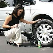 Smart Spare Wheel Tyre Inflator Puncture Repair fits ASTON MARTIN + Free Gift