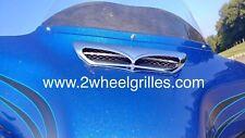 14 15 16 17 Harley Davidson Street Glide Custom Chrome Fairing Screen Grill Vent