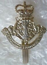 Staybrite Leicestershire & Derbyshire Yeomanry Cap Badge QC A/A maker NW TIMINGS