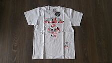 AAPE GIRLS BY BATHING APE CAMO LOGO TEE T-SHIRT WHITE SIZE SMALL S NEW AUTHENTIC