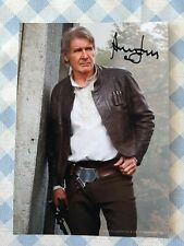"HARRISON FORD / ""Star Wars 7"" Autographe Imprimé à ""Los Angeles sur Belle Photo"""