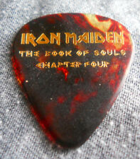 Official JANICK GERS IRON MAIDEN Book of Souls Ch:4 2017 Tour GUITAR PICK