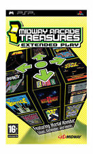 Midway Arcade Treasures: Extended Play (PSP), Very Good Sony PSP, Sony PSP Video