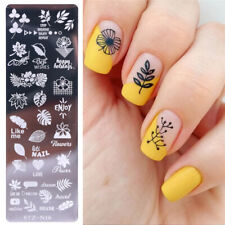 Nail Stamping Plates butterfly Image Stencils Polish Template Nail Art Stamp