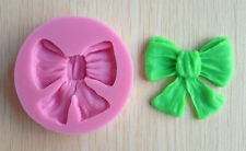 "Bow Single Cavity 2.5"" Pink Silicone Mold - NEW"
